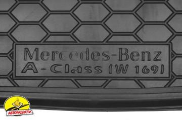 Коврик в багажник для Mercedes A-Class W169 '04-11 резиновый (AVTO-Gumm)