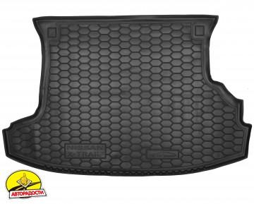 Коврик в багажник для Nissan X-Trail '01-07 резиновый (AVTO-Gumm)