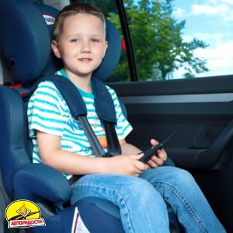 Детское автокресло Heyner MultiProtect Aero SP (II + III), синее