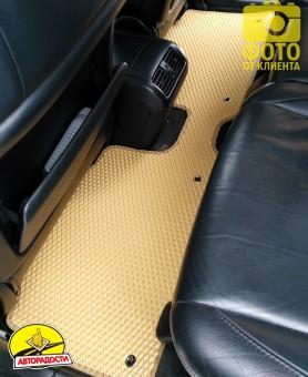 Коврики в салон для Lexus RX '03-08, EVA-полимерные, бежевые (Kinetic)