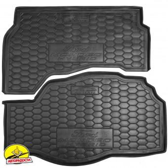 Коврик в багажник для Ford Mondeo '15-, hybrid резиновый (AVTO-Gumm)