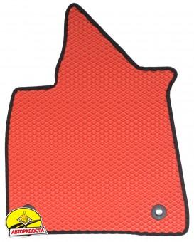 Коврики в салон для Lexus RX '16-, EVA-полимерные, красные (Kinetic)
