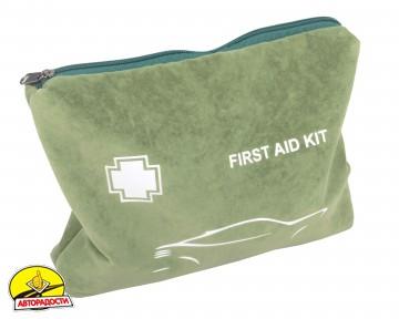 """Аптечка первой медицинской помощи в тканевом футляре """"FIRST AID KIT"""""""