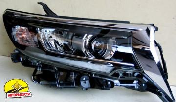 Передние фары для Toyota LC Prado 150 '18-, LED, стиль LD1 (ASP)