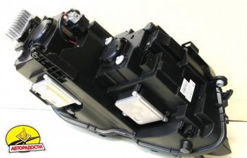 Передние фары для Volkswagen Tiguan L '16-, черные (ASP)
