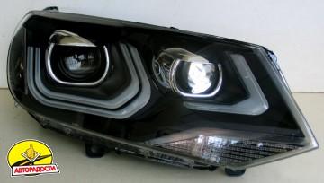 Передние фары для Volkswagen Touareg '10-18, LD (ASP)