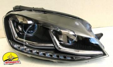 Передние фары для Volkswagen Golf VII '12-,TLZ, стиль 7.5 (ASP)