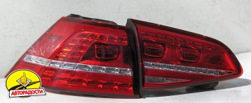 Фонари задние для Volkswagen Golf VII '12-, LED (ASP)