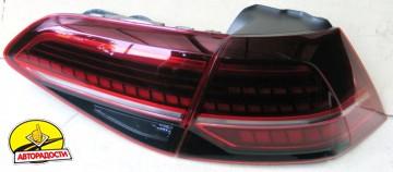 Фонари задние для Volkswagen Golf VII '12-, LED, стиль 7.5  (ASP)