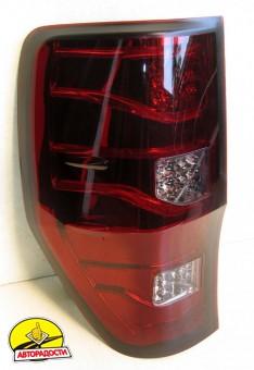 Фонари задние для Ford Ranger '11-, LED, красные (ASP)