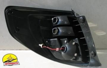 Фонари задние для Suzuki SX4 '06-14, LED, черные (ASP)