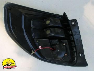 Фонари задние для Suzuki SX4 '06-14, LED, хром (ASP)