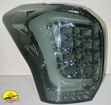 Фонари задние для Subaru Forester '13-18, LED, хром (ASP)