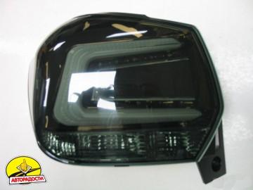 Фонари задние для Subaru XV '11-16, LED, черные тонированные (ASP)
