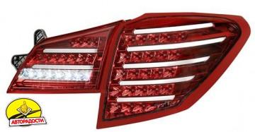 Фонари задние для Subaru Outback '09-14, LED, тонированные красные BR9 (ASP)
