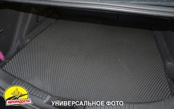 Коврик в багажник для BMW 7 G12 '15-, без запаски, EVA-полимерный, черный (Kinetic)