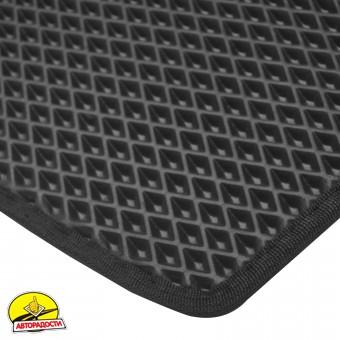 Коврик в багажник для Seat Arona '17- верхний, EVA-полимерный, черный (Kinetic)
