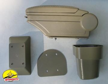 Подлокотник ASP Hody для Hyundai Accent '06-10 виниловый (бежевый)