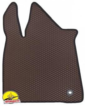 Коврики в салон для Lexus RX '16-, EVA-полимерные, коричневые (Kinetic)