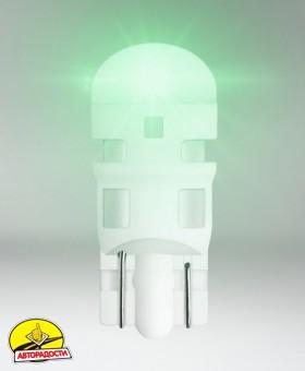 Автомобильная лампочка Osram LEDriving Standard Green W5W, W2.1x9.5d, 1W 12V (2шт.)