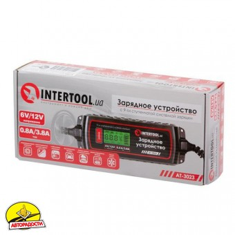 Зарядное устройство AT-3023 (Intertool)