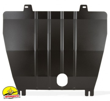 Защита картера двигателя и крепеж для Nissan X-Trail (T32) '14-, V-2,0i/1,6D, МКПП/АКПП (Novline / Element)