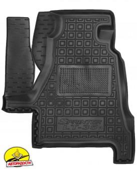 Коврик в салон водительский для Mercedes Sprinter '95-06 резиновый, черный (AVTO-Gumm)