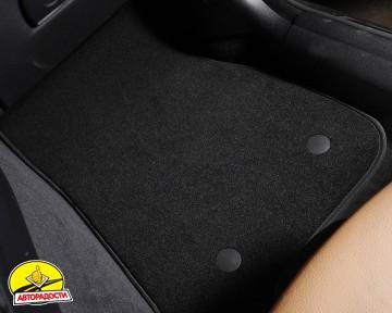 Коврики в салон для BMW 4 F36 Gran Coupe '14-20, текстильные, черные (Optimal)