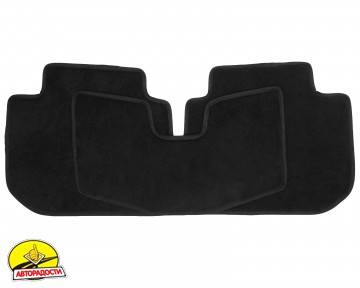 Коврики в салон для Subaru Outback '09-14, текстильные, черные (Optimal)