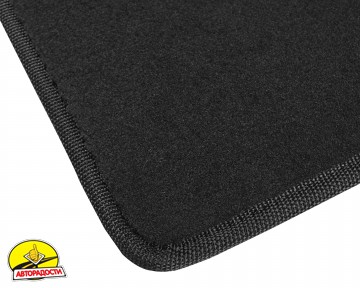 Коврик в багажник для Mazda 3 '14- хетчбэк, текстильный, черный (Optimal)