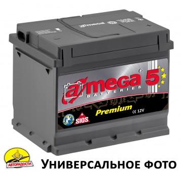 Автомобильный аккумулятор A-MEGA Premium 45Ач, правый плюс