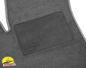 Коврики в салон для Audi Q5 '08-17, текстильные, серые (Optimal)