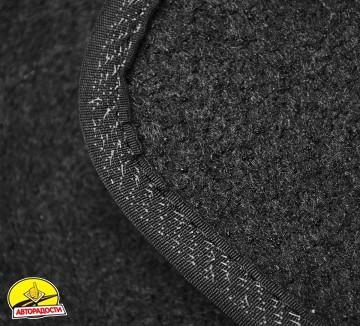 Коврики в салон для Citroen Jumpy '96-07 текстильные, черные (Люкс)