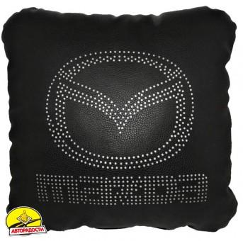 Подушка перфорированная Mazda черная
