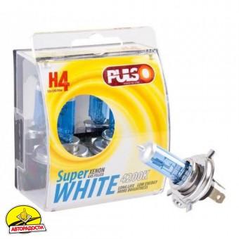 Автомобильные лампочки H4/P43T 12V 100/90W (2 шт.)