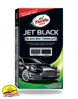 Полироль Turtle Wax Jet Black - набор для черных автомобилей