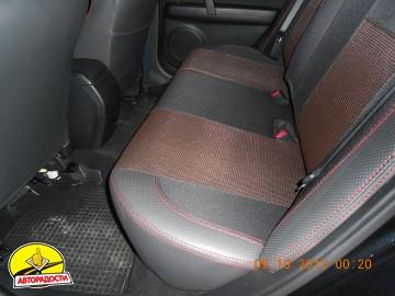 Авточехлы Premium для салона Mazda 6 '08-12 серая строчка (MW Brothers)