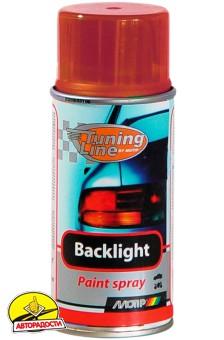Лак для тонировки фонарей красный 150 мл. (Motip)