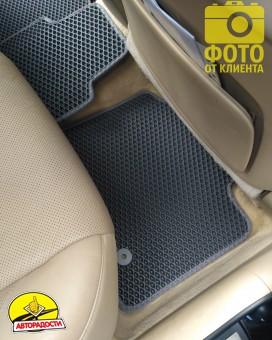 Коврики в салон для Lexus ES 350 '06-12, EVA-полимерные, серые (Kinetic)