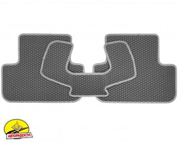 Коврики в салон для Audi A4 '08-15, EVA-полимерные, серые (Kinetic)