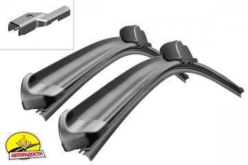 Щётки стеклоочистителя бескаркасные Bosch AeroTwin 800 и 700 мм. PushButton 19мм. (к-кт) A 865 S