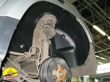 Подкрылок задний левый для Renault Duster '10-, 4x2 (Novline)