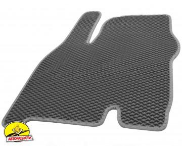 Коврики в салон для Chevrolet Bolt '16-, EVA-полимерные, серые (Kinetic)