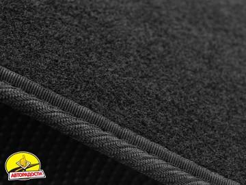 Коврики в салон для Fiat 500 '08- USA, текстильные, черные (Стандарт)