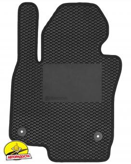 Коврики в салон для Skoda Octavia A5 05-13, EVA-полимерные черные с подпятником (Kinetic)