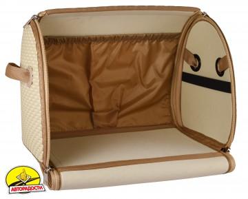 Органайзер в багажник EVA-полимерный, L светло-бежевый (Kinetic)