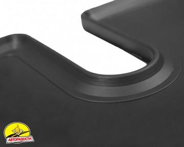 Коврик в багажник для Mitsubishi Outlander '12- (без органайзера), резиновый (Stingray)
