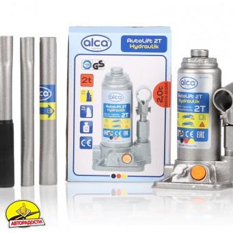 Домкрат автомобильный гидравлический бутылочный 2 т. 431 000 AL (Аlca)