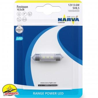 Автомобильная лампочка Narva Range Power LED 18006.1B C5W 12 V 0.6W
