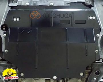 Защита двигателя и КПП для Volkswagen Caddy '16-, V-2,0TDI, МКПП (Кольчуга) Zipoflex